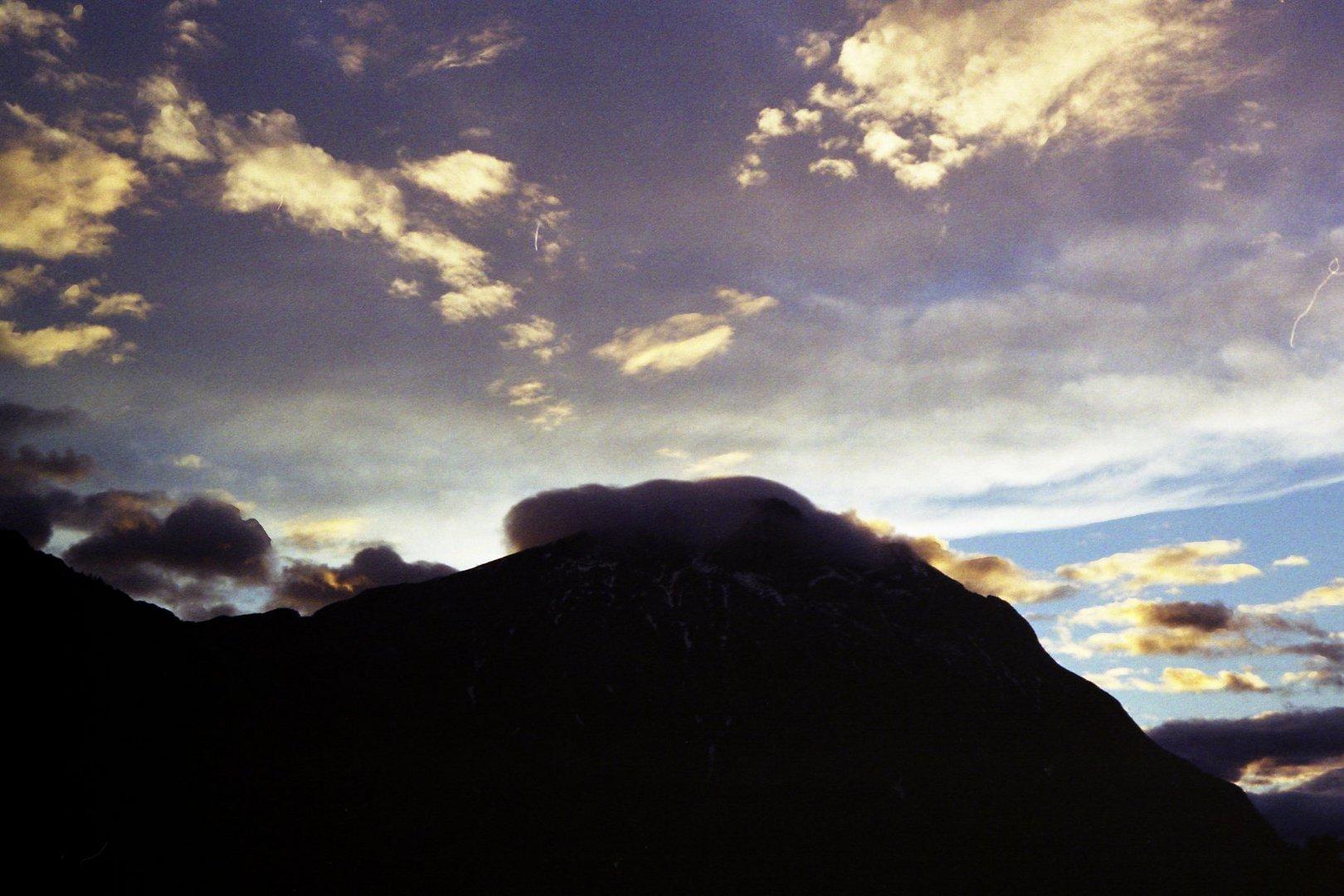 Licht hinterm Berg