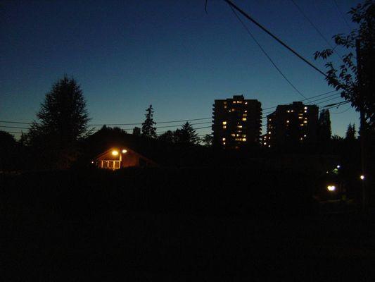 Licht im Dunkeln..