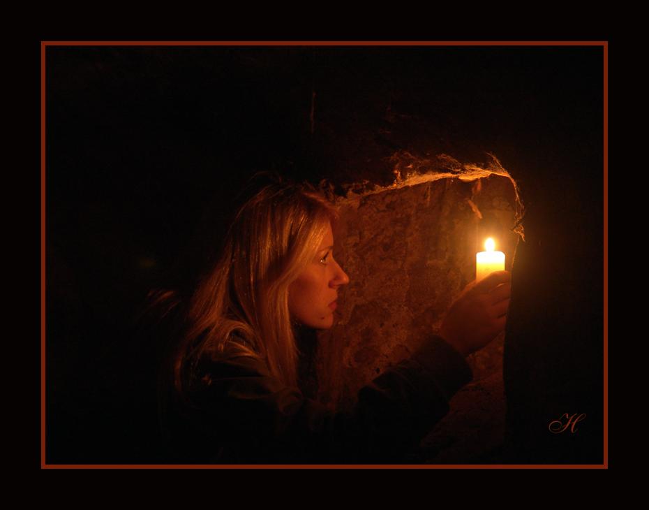 Licht im Gewölbe