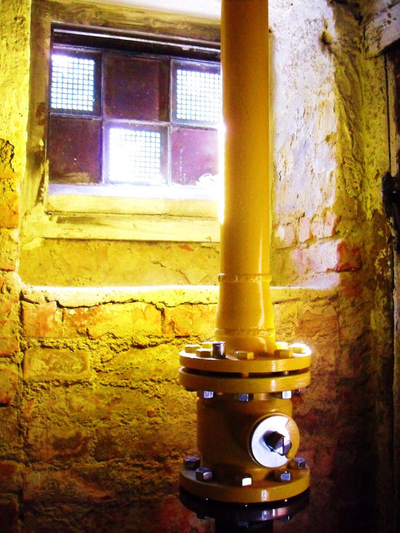 Licht im Keller