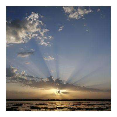 Licht im Quadrat - Sonnenaufgang