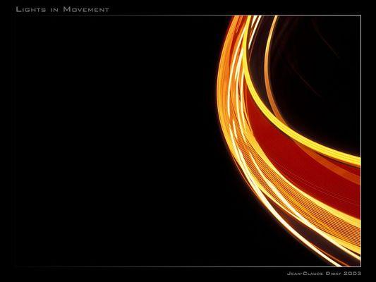 Licht in Bewegung