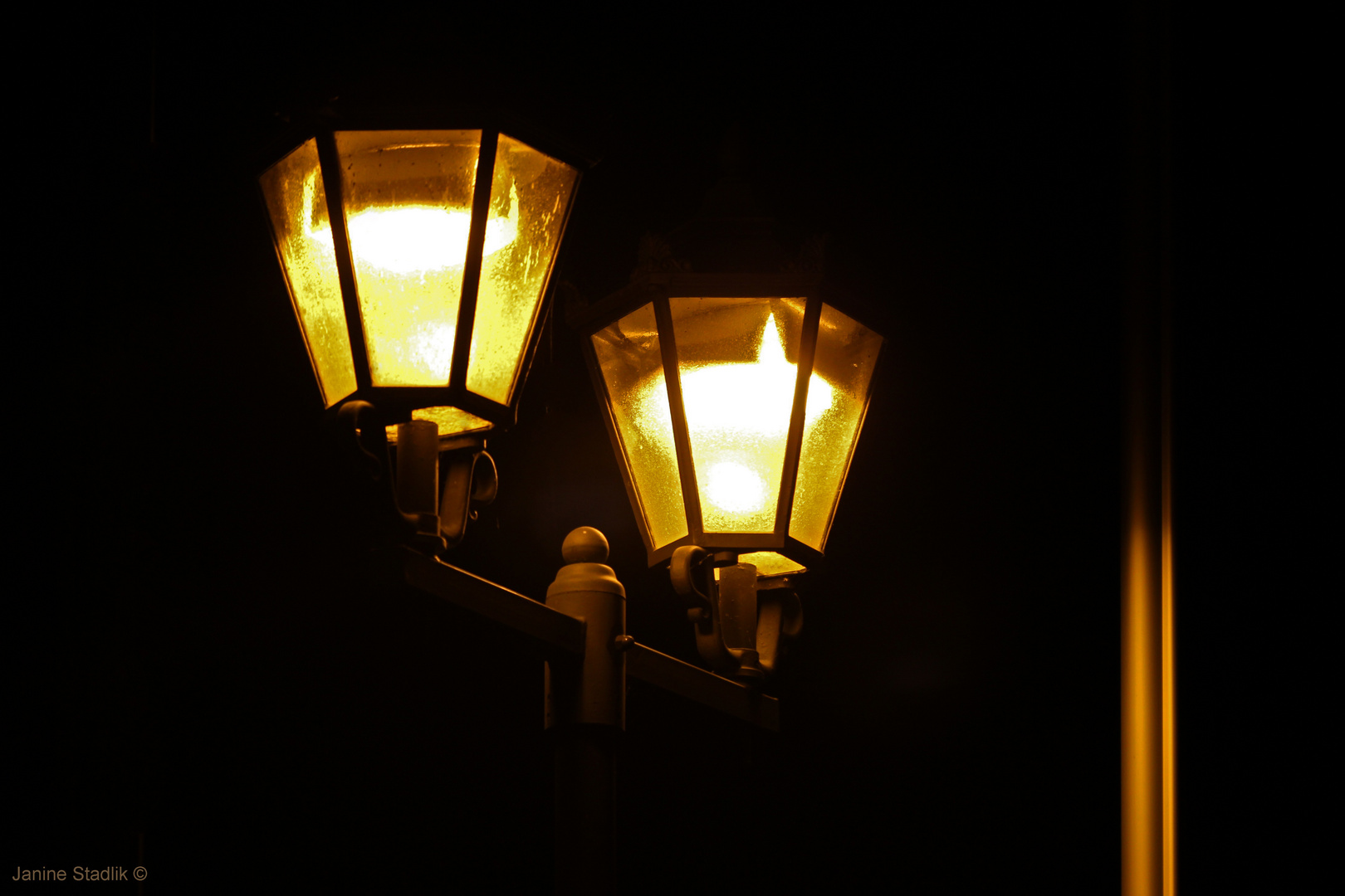 Licht in der Dunkelheit ....