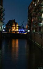 Licht in der Hamburger Hafencity