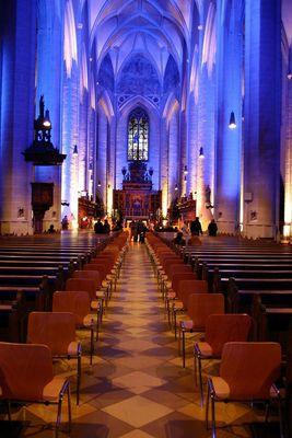 Licht in der Kirche