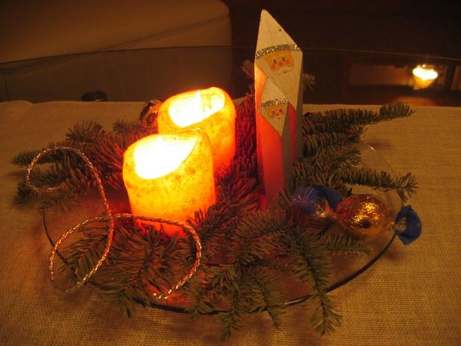 Licht in der Weihnachtszeit