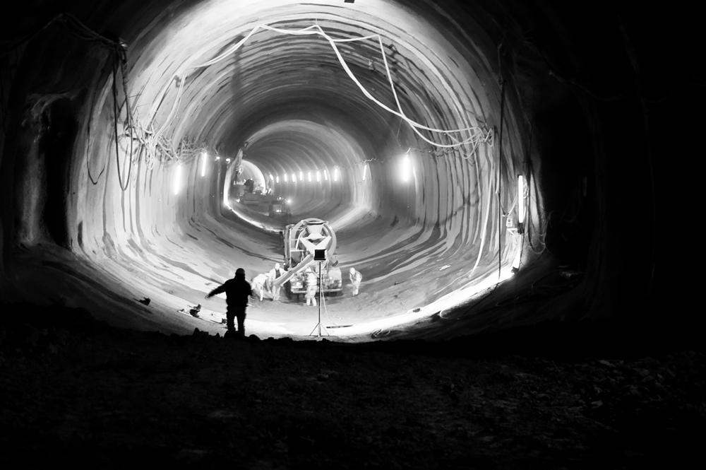 Licht in mitten des Tunnels