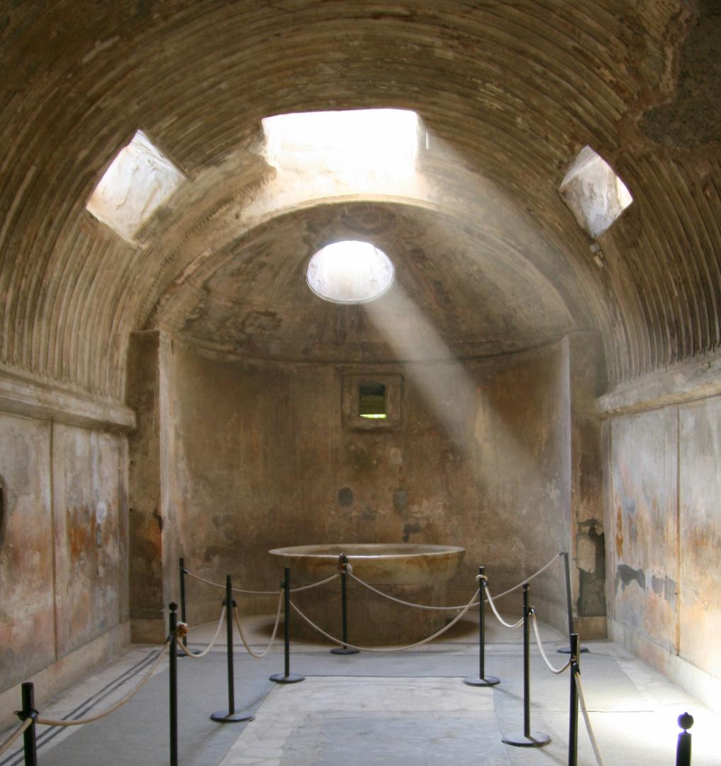 Licht in Pompej