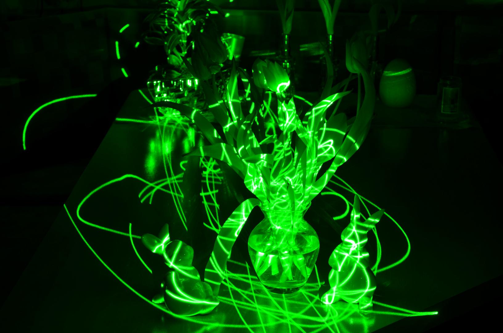 Licht und Laser