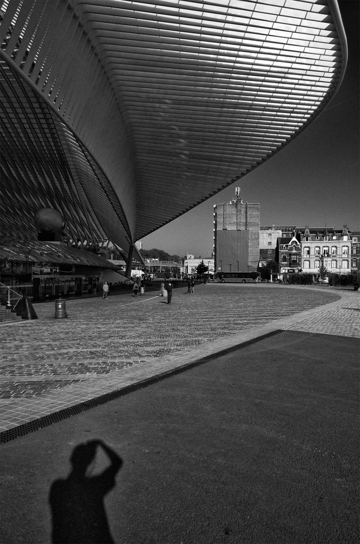 Licht und Schatten in ... Lüttich (1)