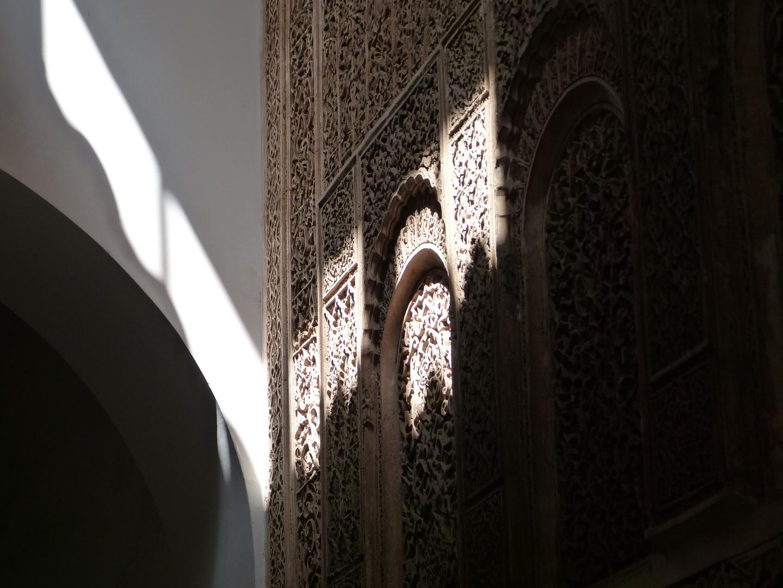 Licht und Schatten in Marrakech