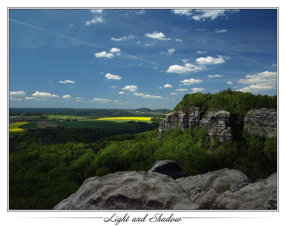 Licht und Schatten - Sächsische Schweiz