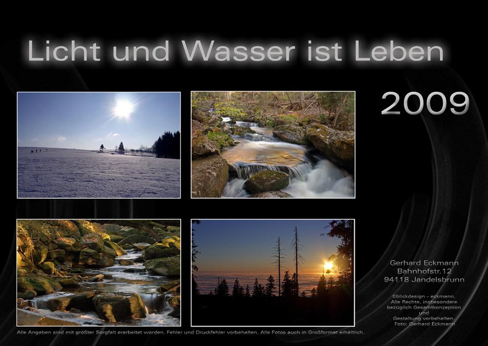 Licht und Wasser ist Leben 2009