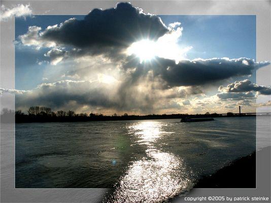 Licht und Wolken - wie das Leben ist