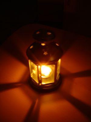 Licht unter den Scheffel stellen