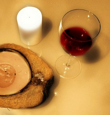 Licht, Wein... und Spiegelei!?