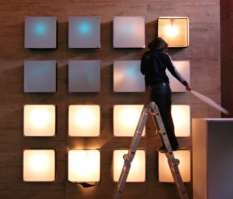 Licht zum Quadrat...