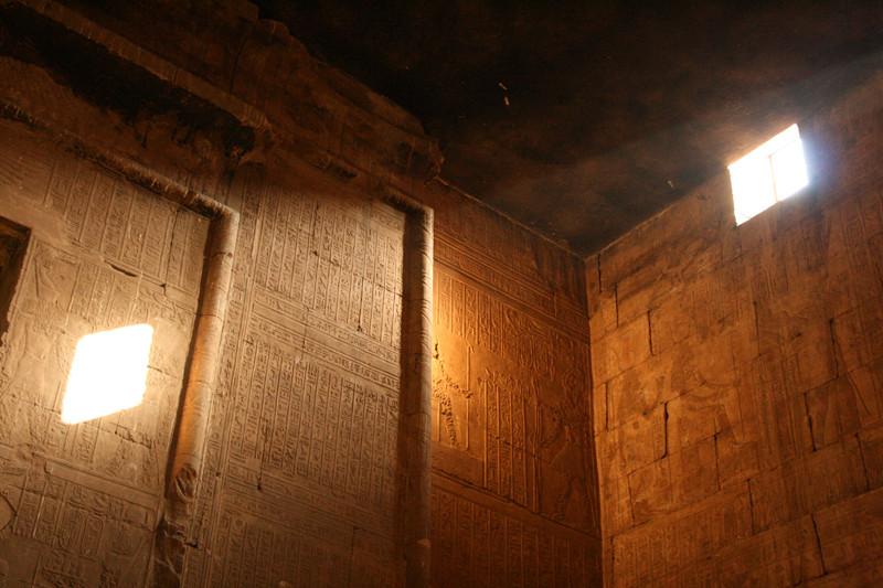 Lichtblick im Tempel