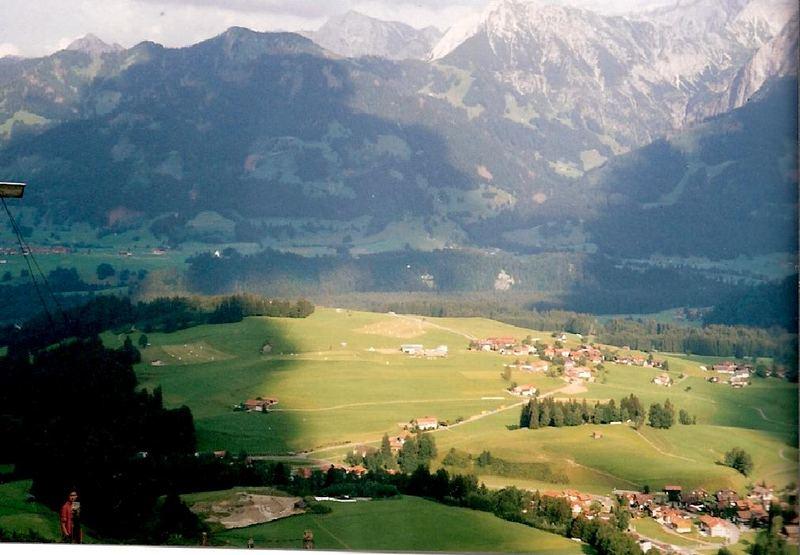 Lichtblick in den Alpen