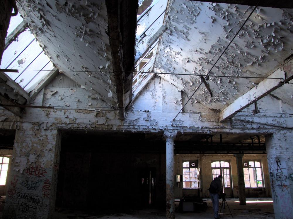 Lichtdach der Druckerei