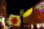 Lichtdurchflutete Altstadt