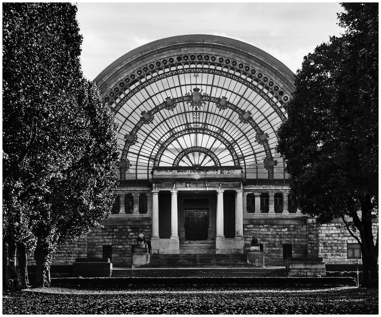Lichte Architektur in Brüssel