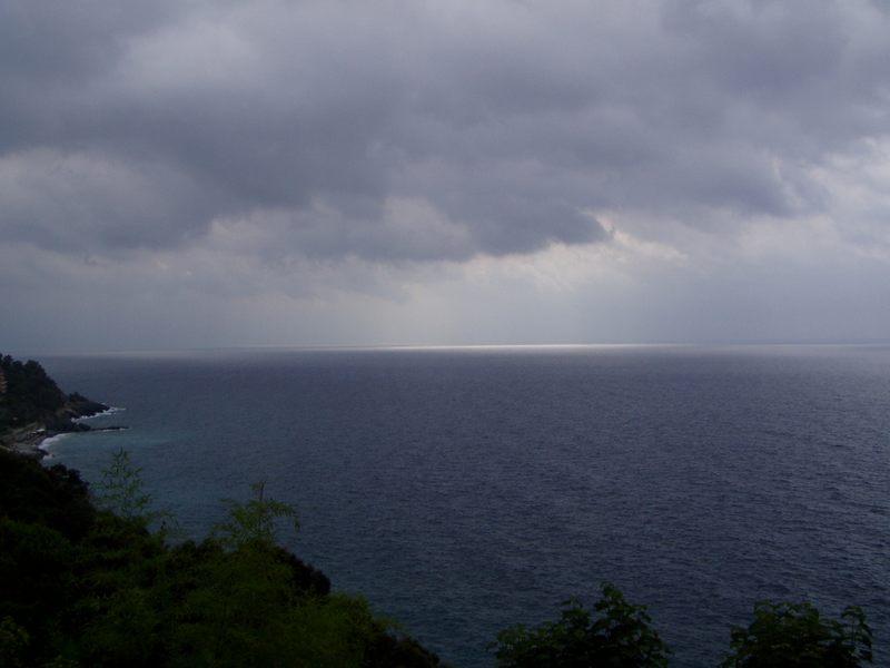 Lichteffekt im Meer