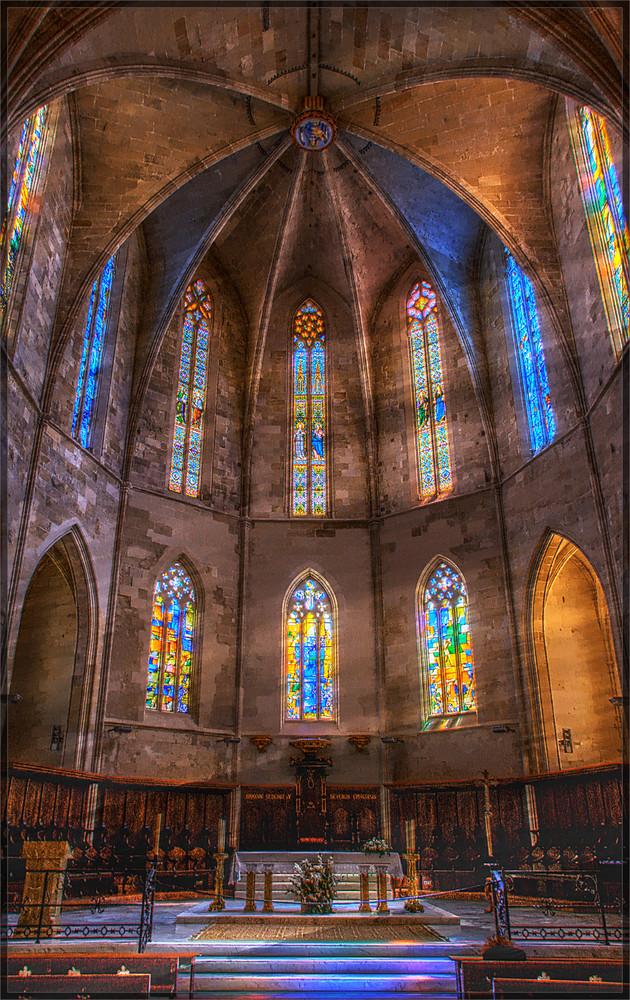 Lichteinfall in der Kirche