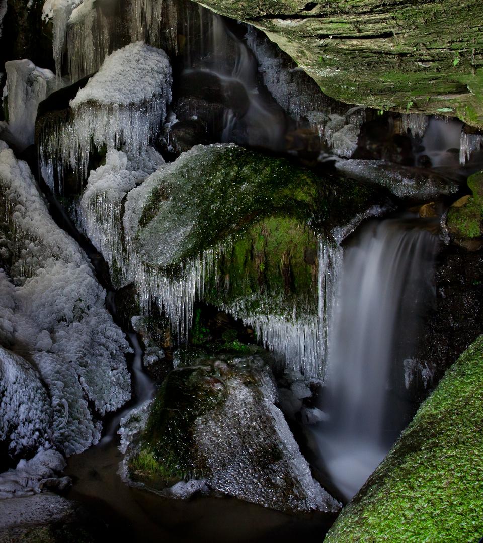 Lichtenhainer Wasserfall ( das Beste Stück davon )