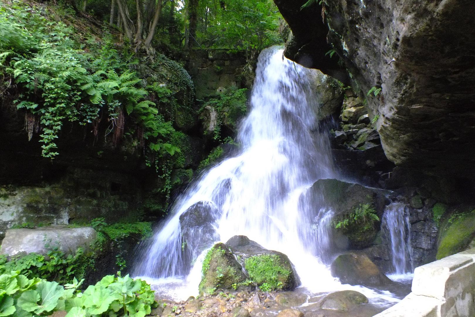 Lichtenhainer Wasserfall, Pfingsten 2011
