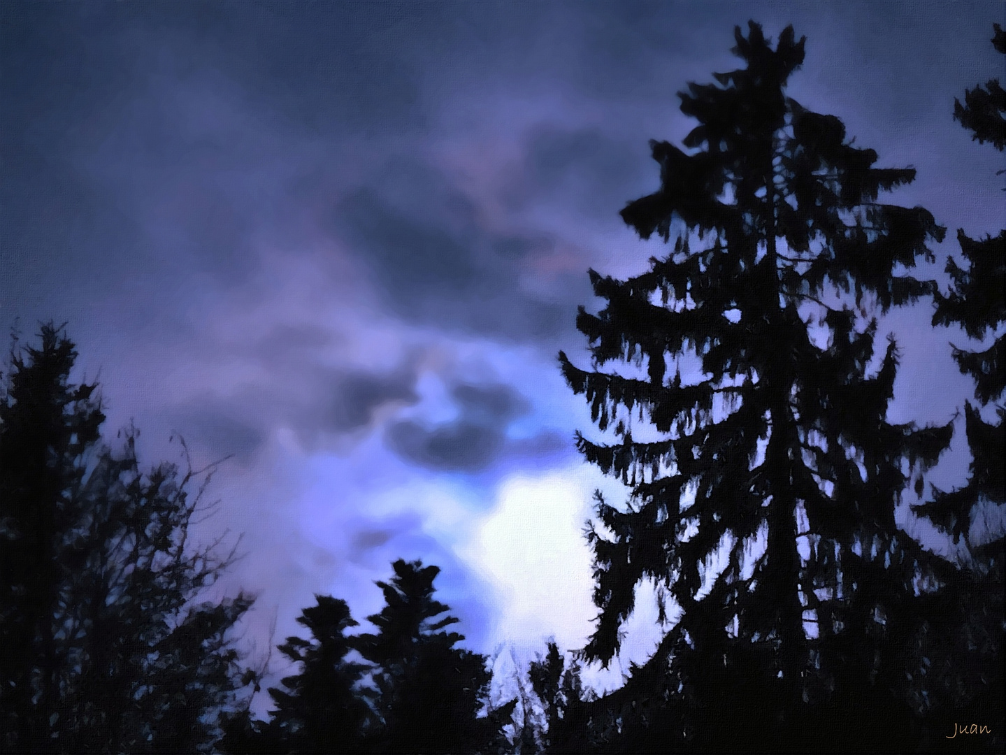 Lichter am Abend