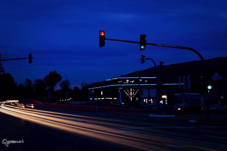 Lichter bei Nacht
