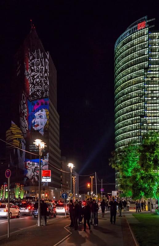 Lichter der Großstadt
