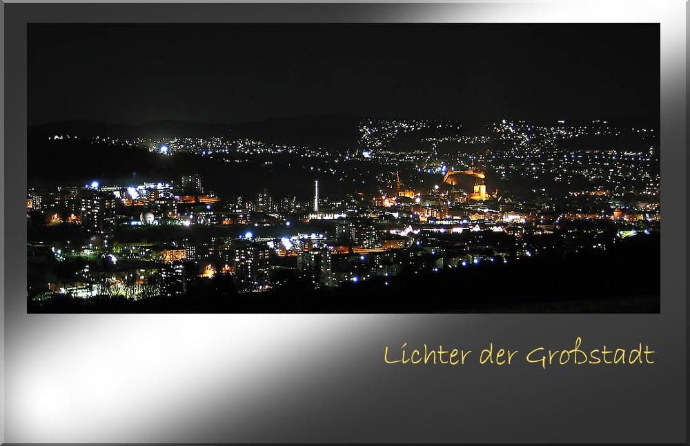 Lichter der Großstadt...