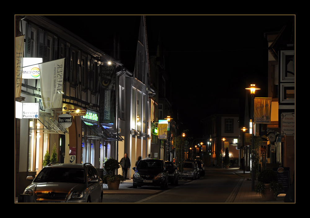 Lichter der Kleinstadt