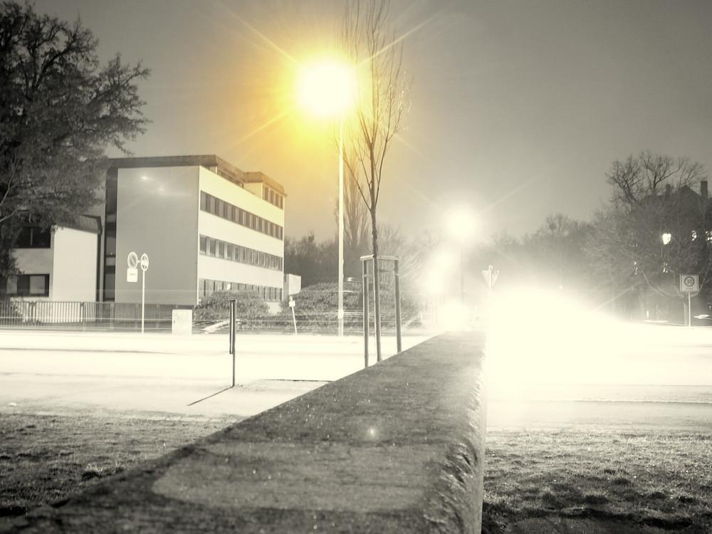 Lichter der Straßen