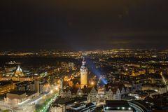 Lichter einer Stadt