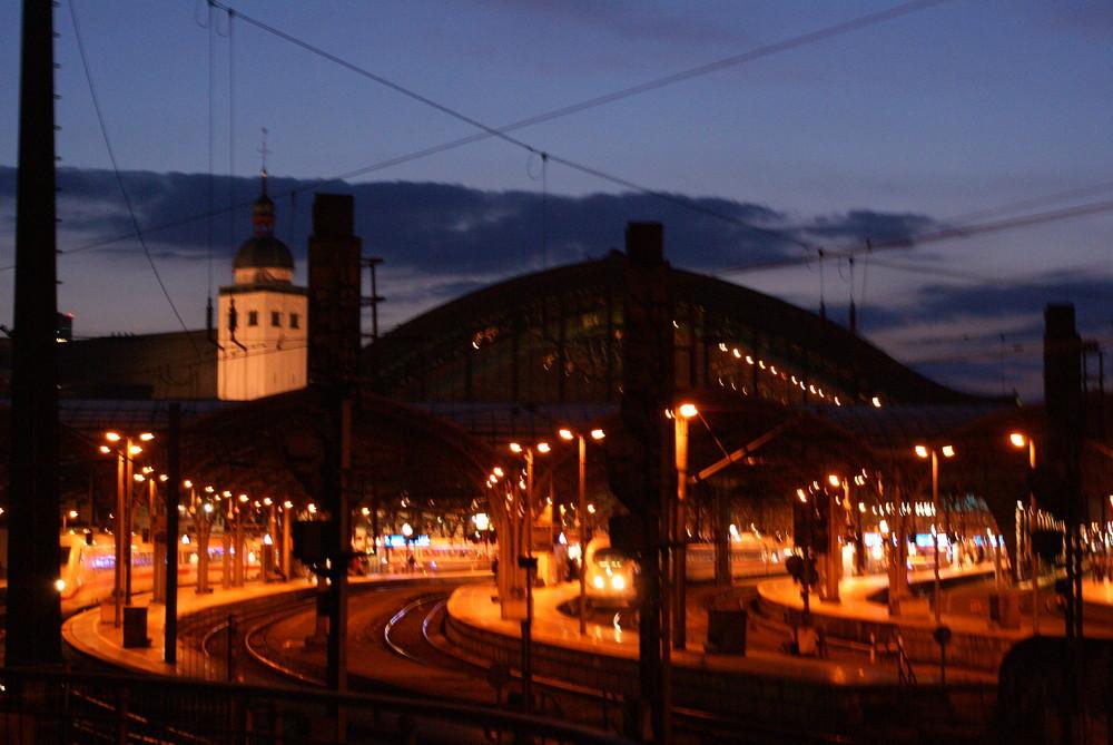 Lichter einer Stadt..