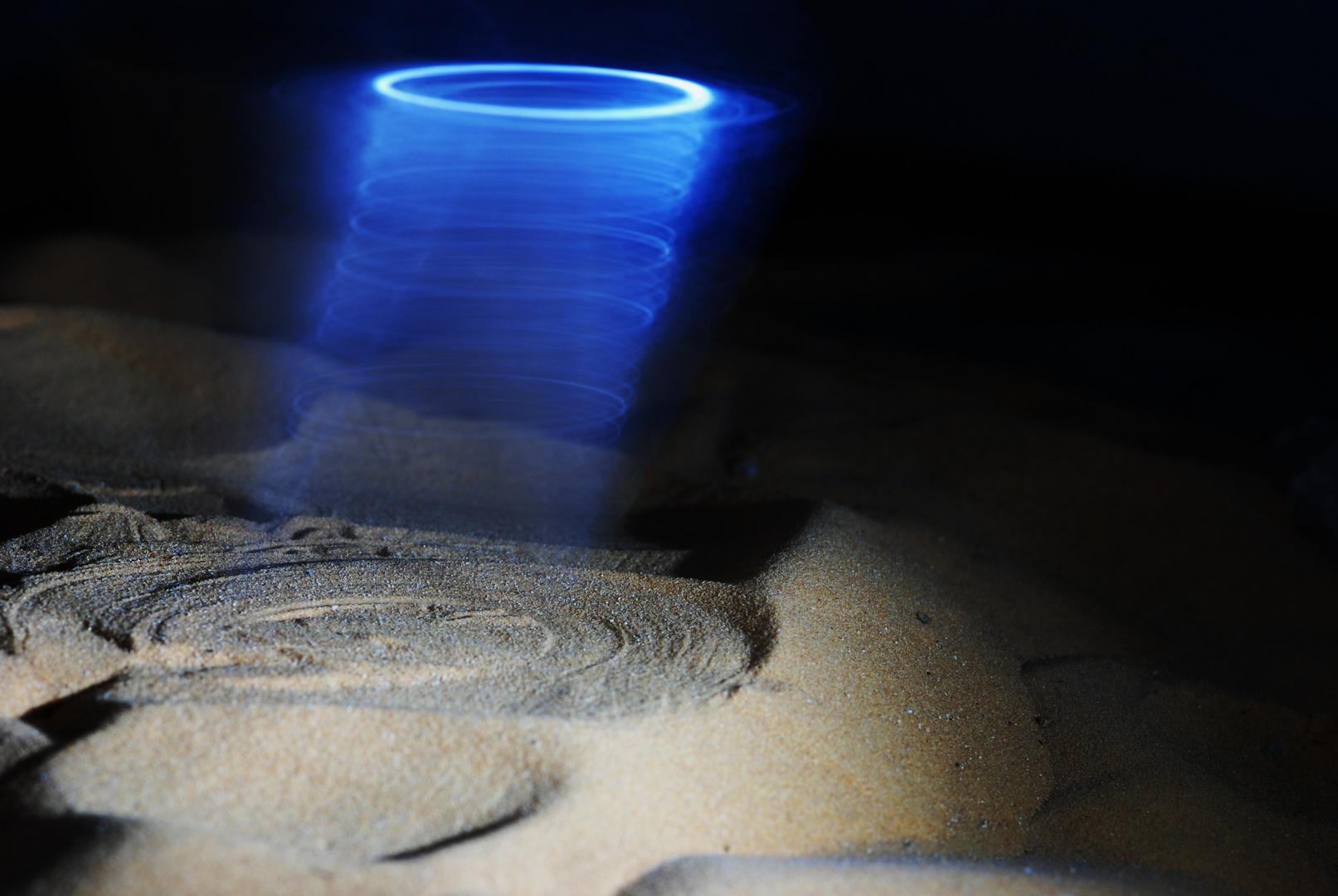 lichter über der wüste