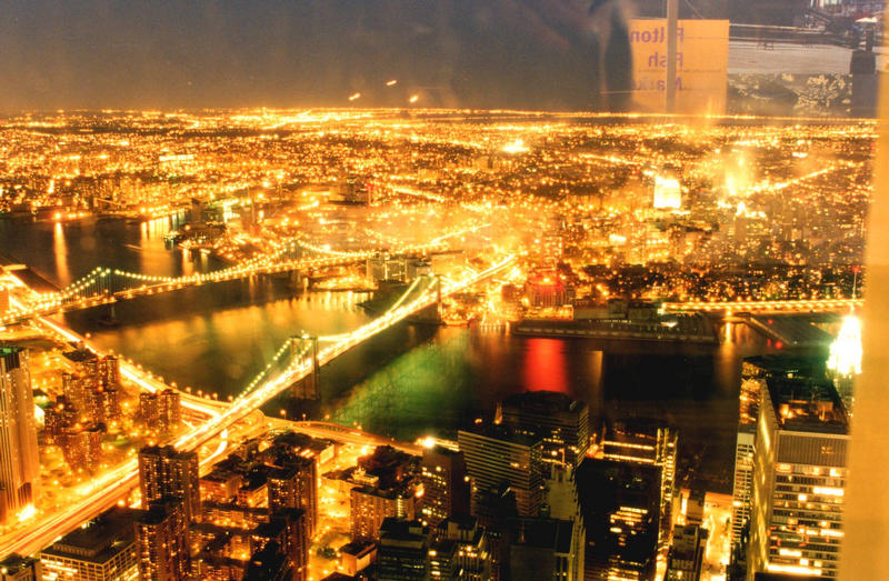 Lichter über NY