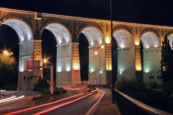 Lichterbrücke
