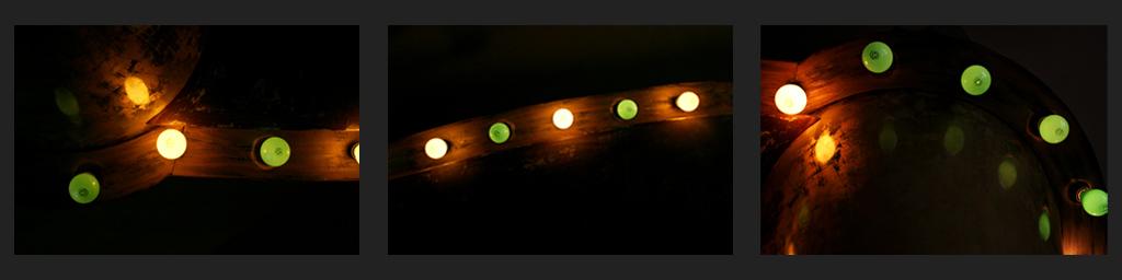 lichterfäden tryptichon