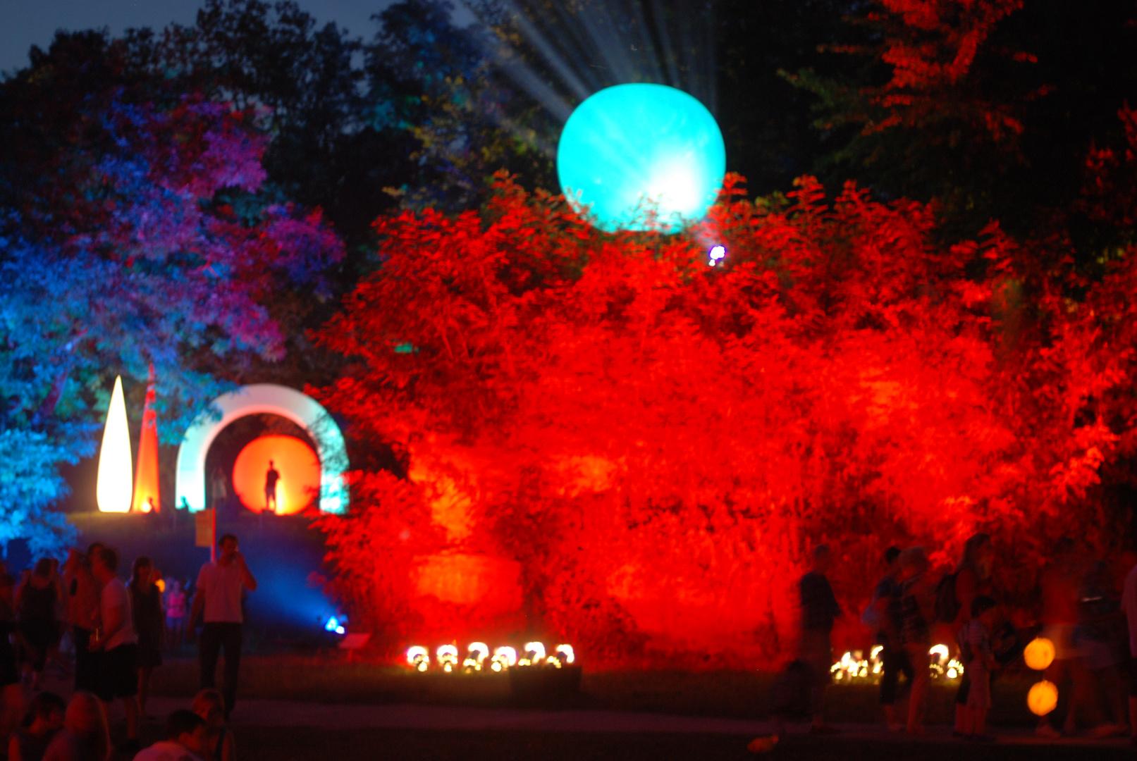Lichterfest auf dem Killesberg 2010