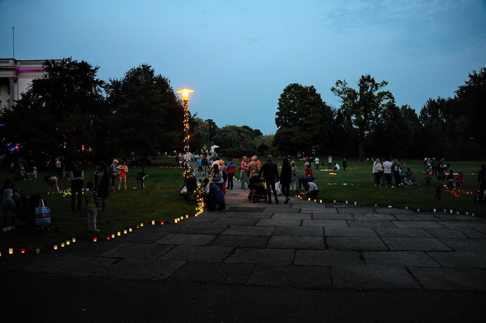 Lichterfest im AGRA-Park