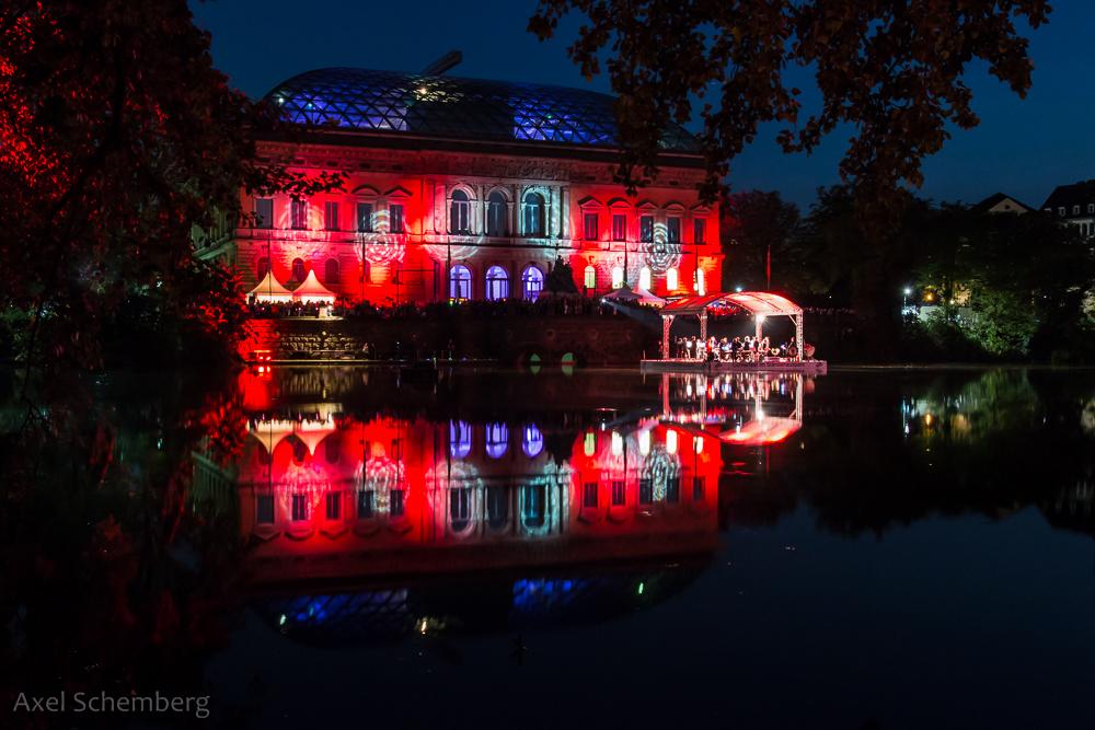 Lichterfest im Ständehauspark 2014