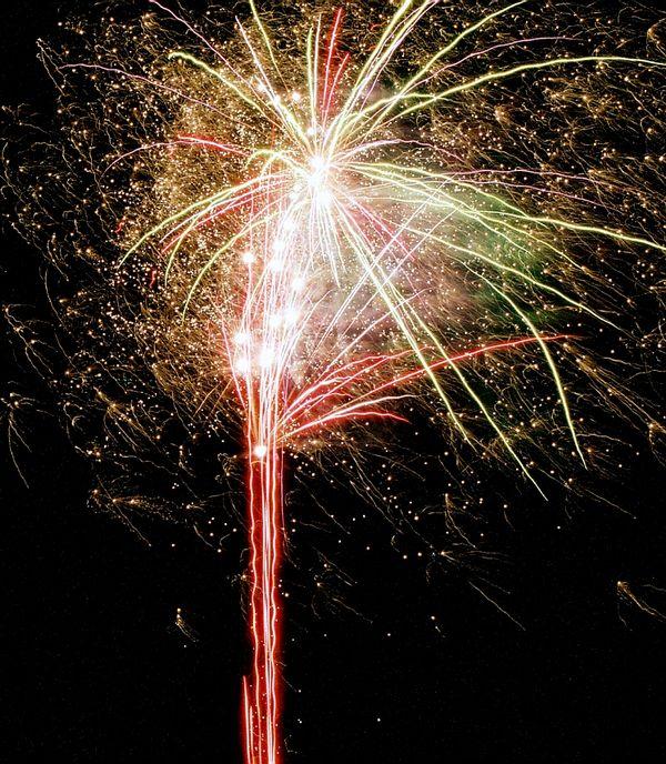 Lichterfest in Andernach 2003