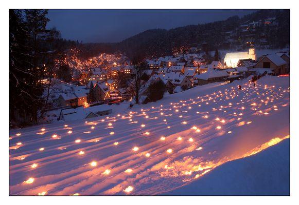 Lichterfest in Obertrubach 2011