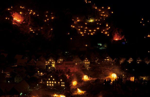 Lichterfest in Pottenstein 2010