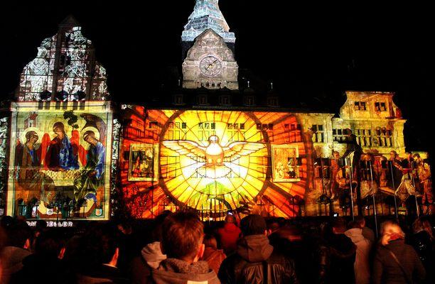 Lichterfest in Recklinghausen ( 2 ) / Fête des lumières à Recklinghausen ( 2 )
