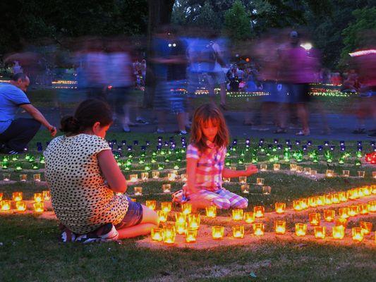 Lichterfest Westfalenpark 2012